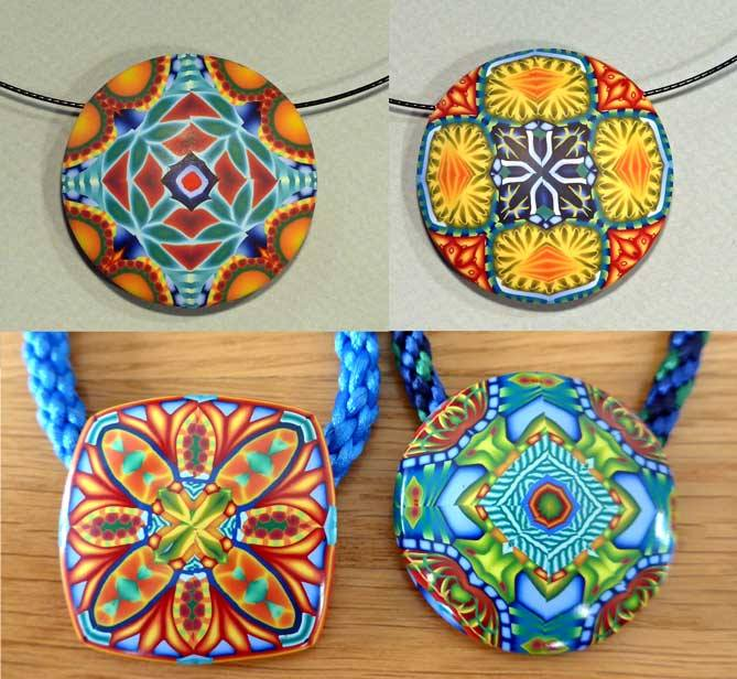 Master Cane Pendants by Bridget Derc
