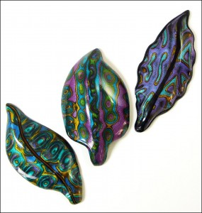 mokume three leaves