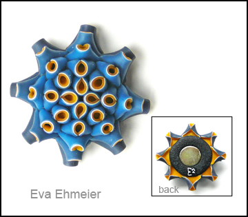 Brooch by Eva Ehmeier