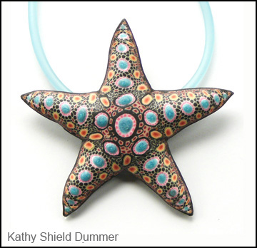 starfish pendant by Kathy Shield Dummer