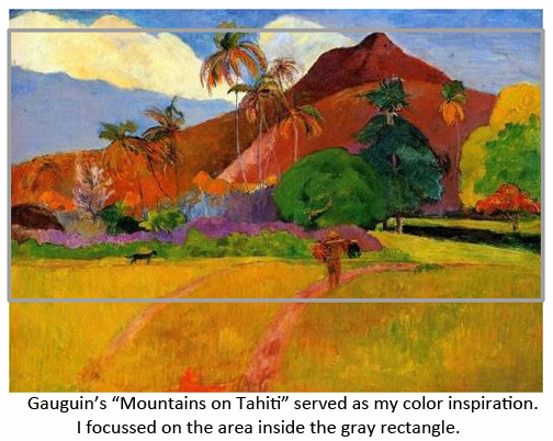 gaugain mountains color inspiration
