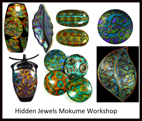 mokume gane collage