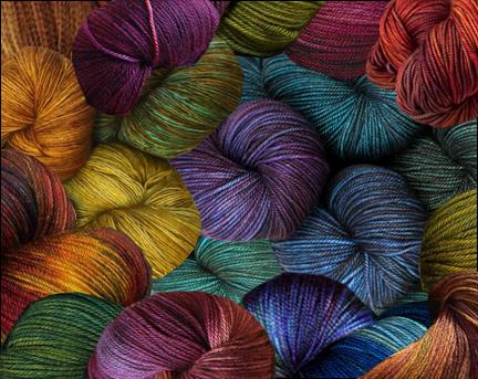 yarn photo collage