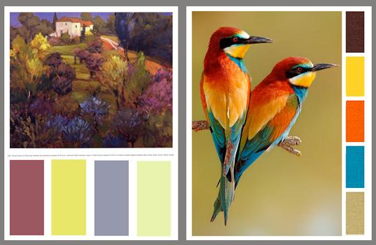 2 palettes