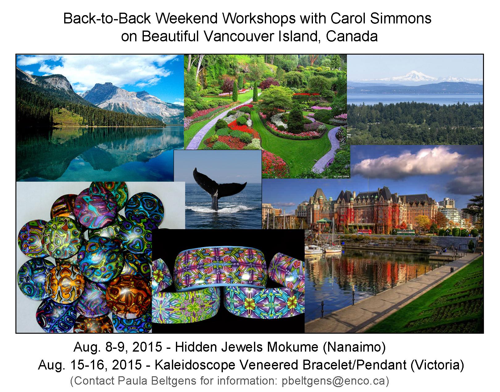 Canada Workshops Announcement