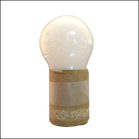 bulb in sleeve 8 in